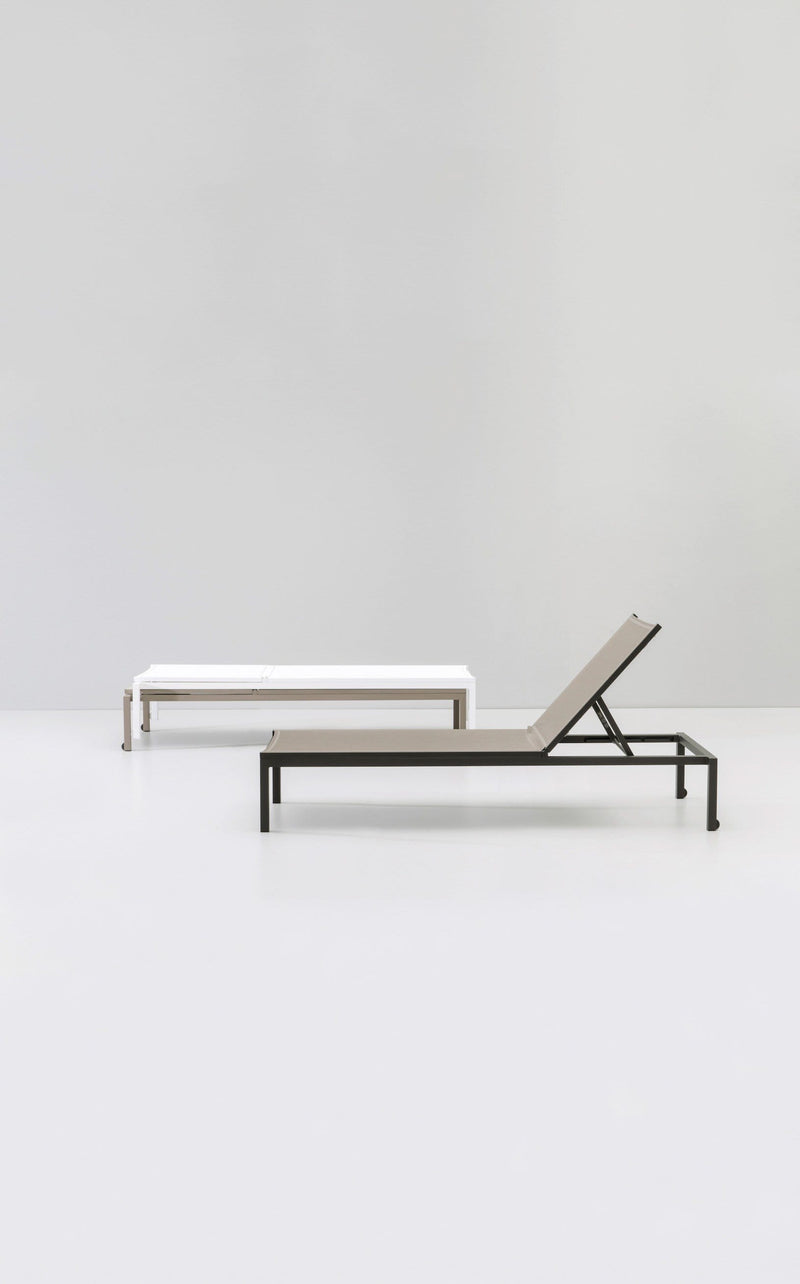 Landscape - Stackable Deck Chair (1260-) by Kettal | JANGEORGe Interior Design