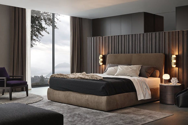 Laze - Bed by Poliform | JANGEORGe Interior Design