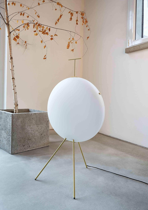Luna Verticale (1957), Floor lamp by Tato | JANGEORGe Interior Design