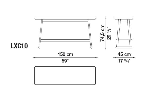 Recipio '14 Table | Maxalto | JANGEORGe Interior Design