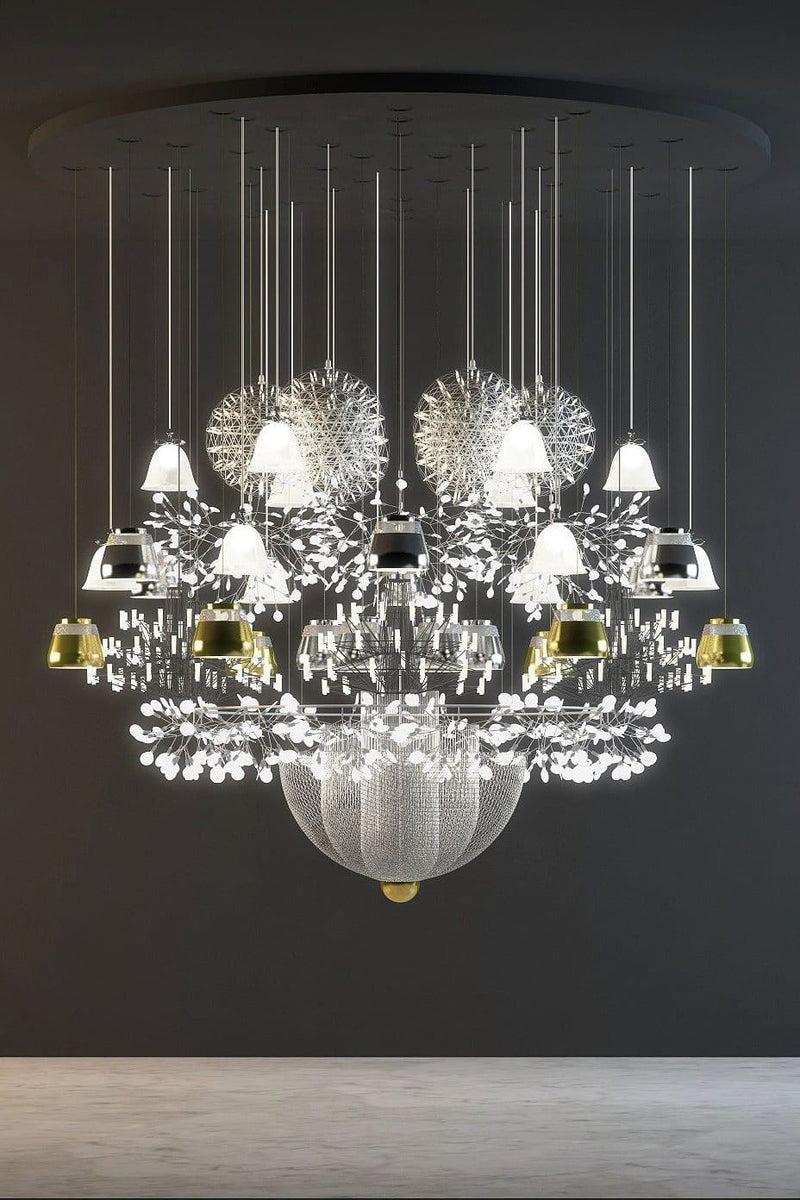 Mega Chandelier Suspension Lamp (MILAN 2018 EDITION) | Moooi | JANGEORGe Interior Design
