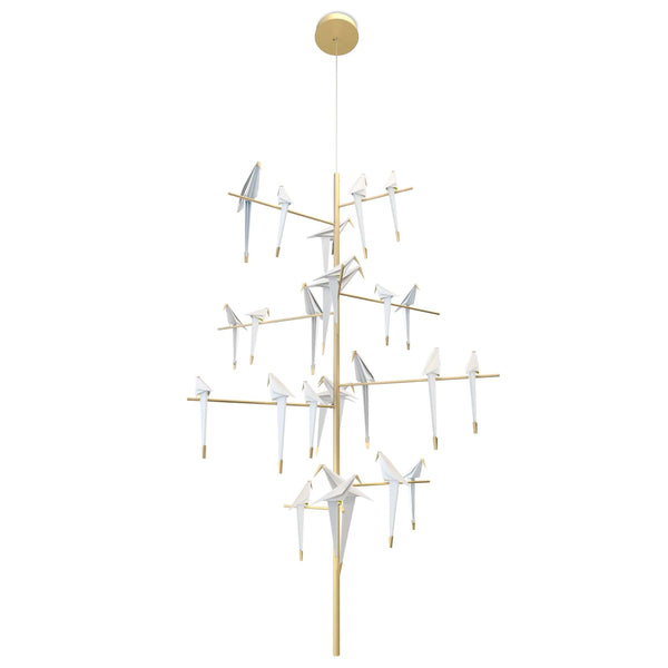 Perch Light Tree Suspension Lamp | Moooi | JANGEORGe Interior Design