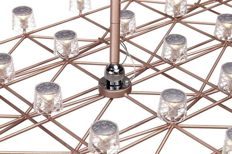 Space-Frame Suspension Lamp | Moooi | JANGEORGe Interior Design
