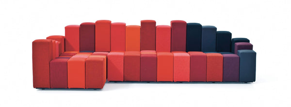 Do-Lo-Rez - Seating System by Moroso | JANGEORGe Interior Design