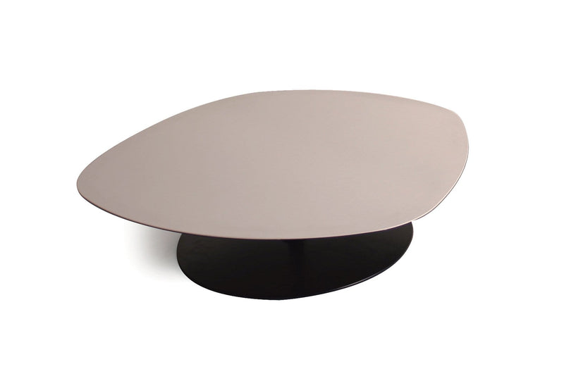 Phoenix Low Table with Metal Base and Laminam Top (0HZ+0HP) | Moroso | JANGEORGe Interior Design