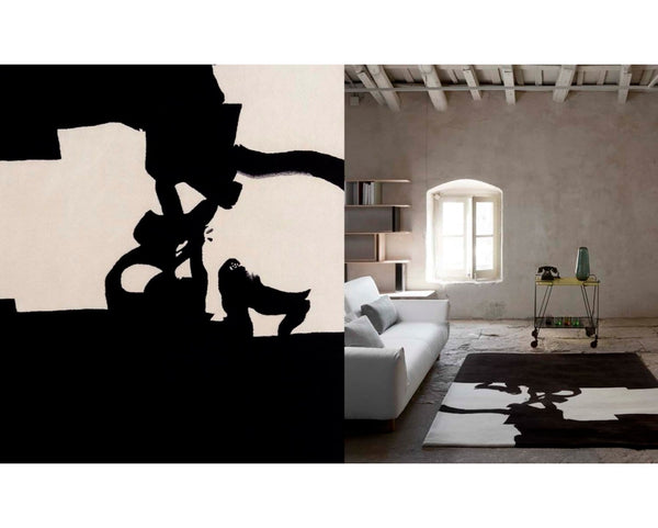 Chillida Collage 1966 Rug | Nanimarquina | JANGEORGe Interior Design