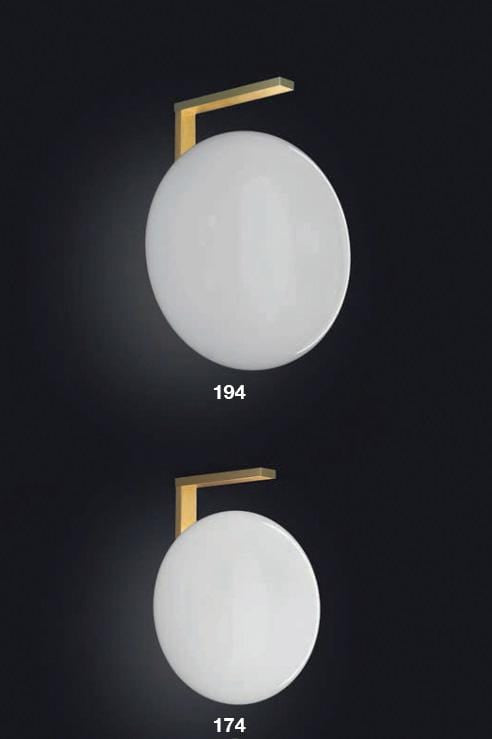 Alba 174 - Wall lamp by Oluce | JANGEORGe Interior Design
