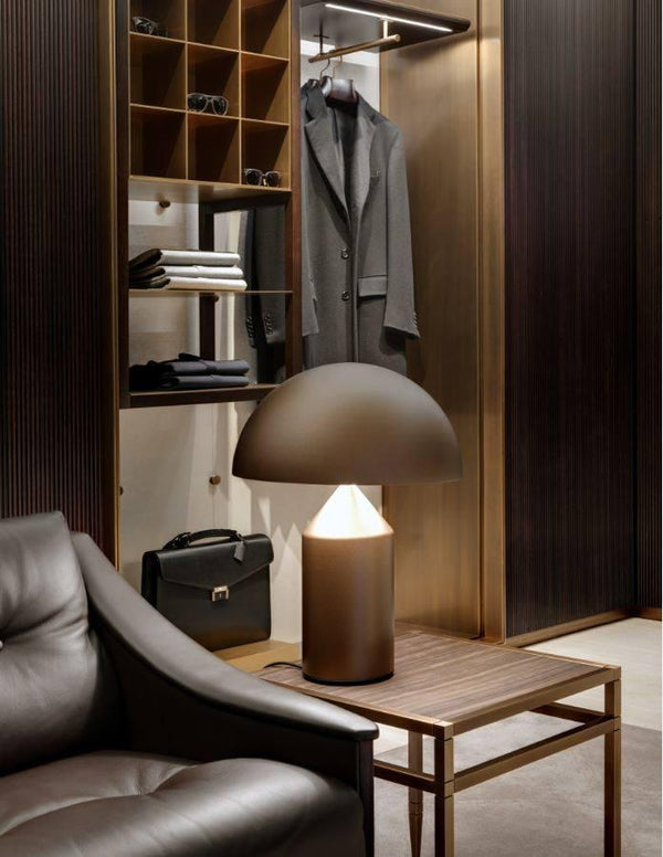 Atollo 233 BR Table Lamp | Oluce | JANGEORGe Interior Design
