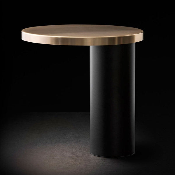Cylinda 218 OR - Table lamp by Oluce | JANGEORGe Interior Design
