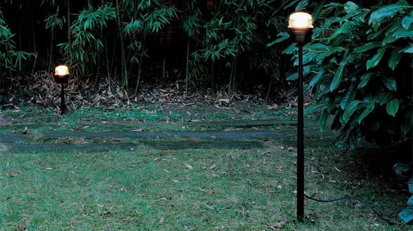 Fresnel 1148 EL - Outdoor Floor Lamp | Oluce | JANGEORGe Interior Design