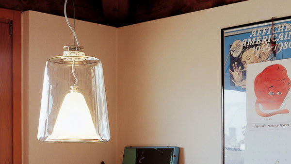 Lanternina 471 - Suspension Lamp - JANGEORGe Interior Design - Oluce