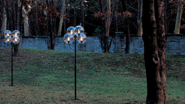 Lyndon 350M - Outdoor Floor Lamp by Oluce | JANGEORGe Interior Design