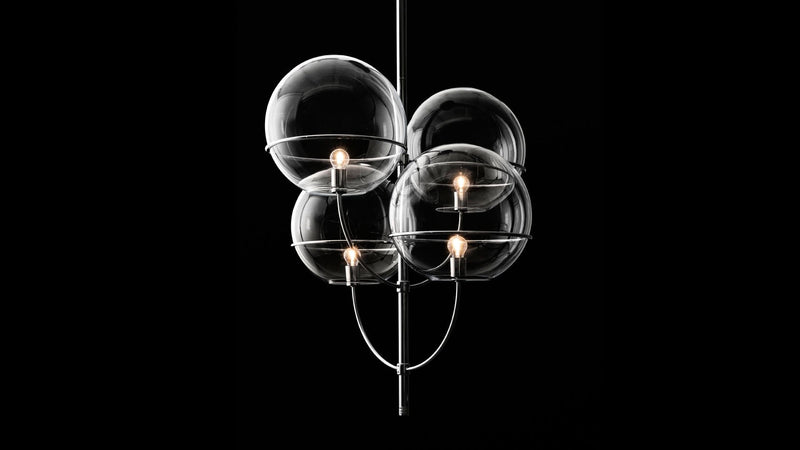 Lyndon 450 - Suspension Lamp | Oluce | JANGEORGe Interior Design