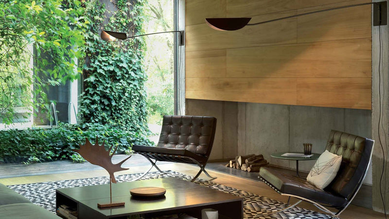 Plume 158 - Wall lamp by Oluce | JANGEORGe Interior Design