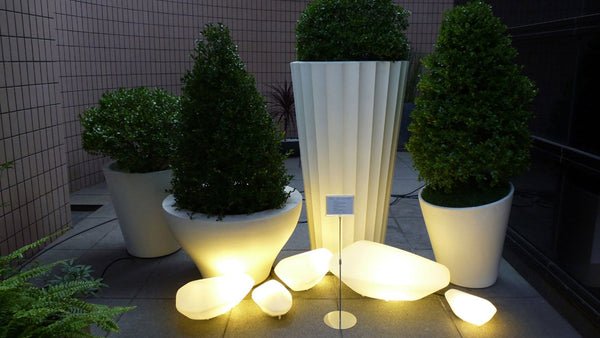 Stones 208 - Outdoor Floor Lamp - JANGEORGe Interior Design - Oluce