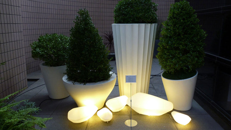 Stones 208 - Outdoor Floor Lamp | Oluce | JANGEORGe Interior Design