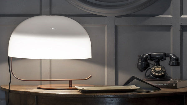 Zanuso 275 - Table lamp by Oluce | JANGEORGe Interior Design