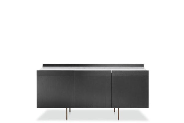 Avant - Sideboard with bronzed brass base (884/MB1-180) by Potocco | JANGEORGe Interior Design