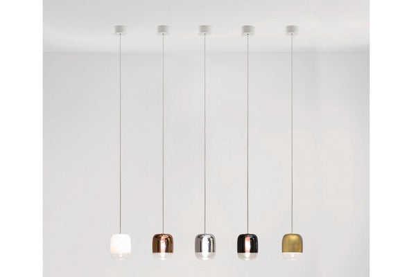 Gong Mini Canopy LED S1 Suspension Lamp | Prandina | JANGEORGe Interior Design