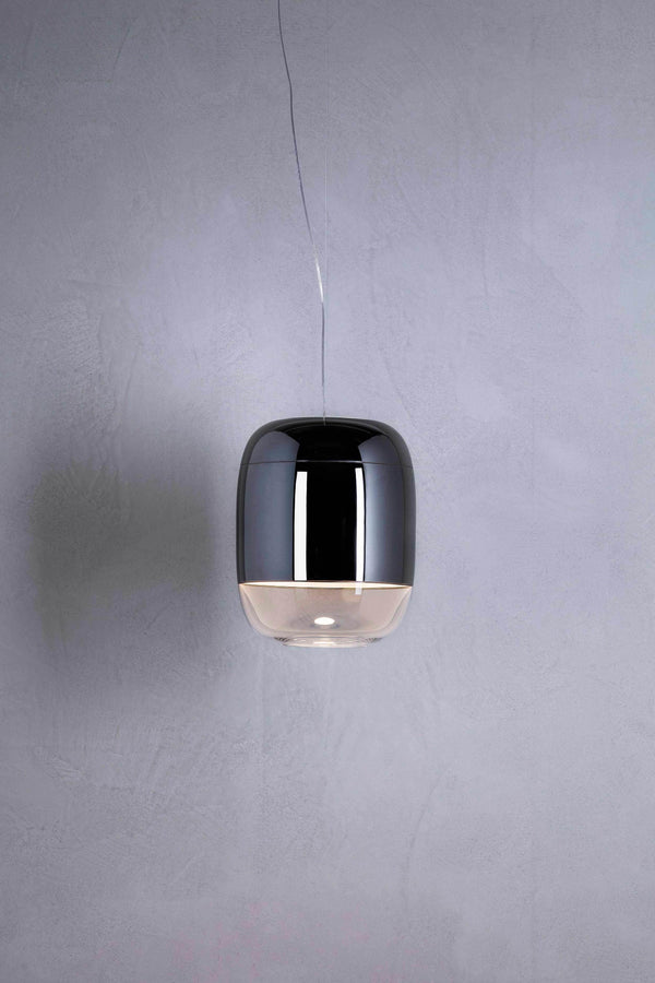 Gong S3 LED Dimm - Suspension lamp by Prandina | JANGEORGe Interior Design