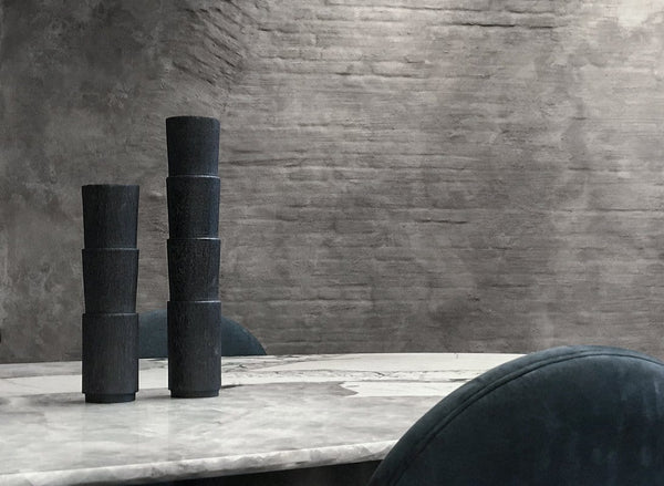 Tower Duo - Candle Holders by Arno DeClercq | JANGEORGe Interior Design