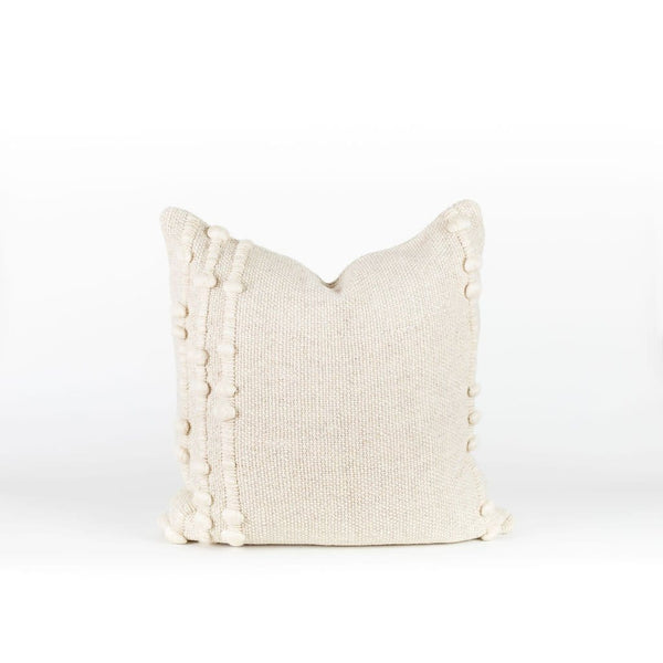 Kuk Pillow Cover in Natural Wool | Treko | JANGEORGe Interior Design