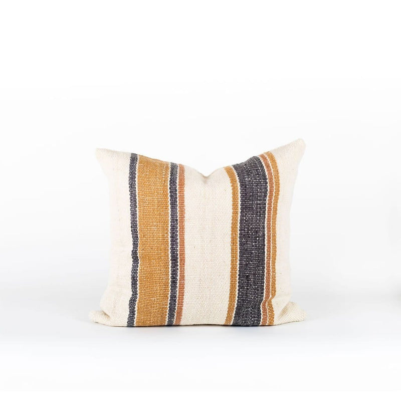 Makun - Pillow Cover Stripes, 26x26in | 66x66cm | Treko | JANGEORGe Interior Design