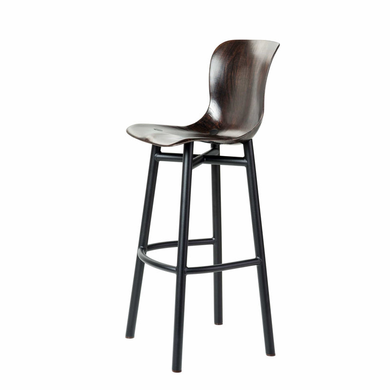 Wendela Barstool in Black by Serender | JANGEORGe Interior Design