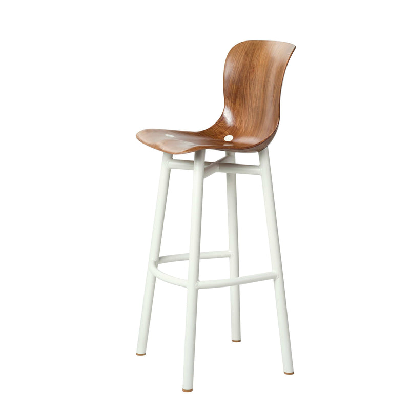Wendela Barstool in White by Serender | JANGEORGe Interior Design