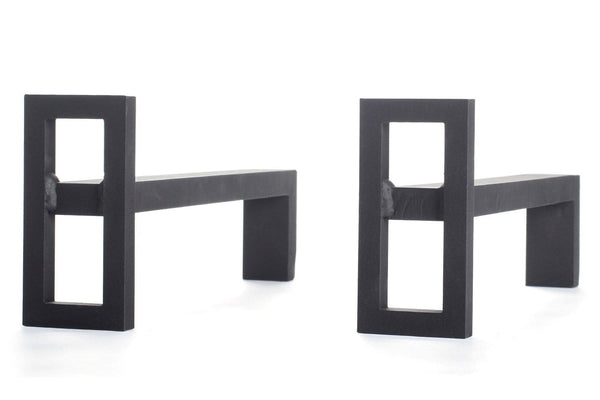 Jean Michel Wilmotte Window Andirons | When Objects Work | JANGEORGe Interior Design