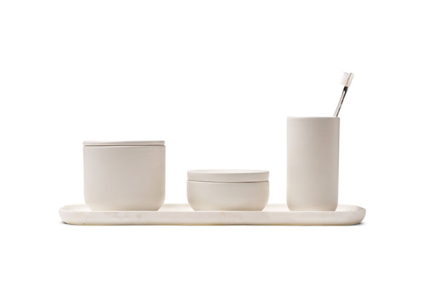 VVD - Bathroom Collection, Tray in Ceramic, Oak or Walnut by When Objects Work | JANGEORGe Interior Design