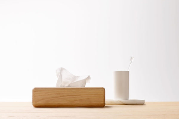 VVD Bathroom Collection, Tissue box | When Objects Work | JANGEORGe Interior Design