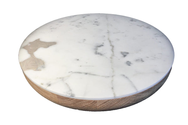 VVD Pottery - 30x5cm with 1cm Marble Lid (3051) by When Objects Work | JANGEORGe Interior Design