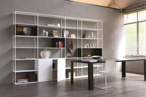 Easy Irony System - Bookcase, Composition C | Zeus | JANGEORGe Interior Design