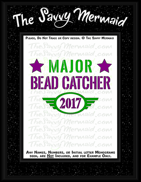 Mardi Gras Major Bead Catcher 2017