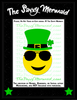 St Patrick's Day Emoji with Sunglasses