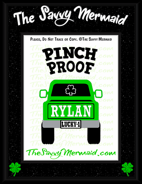 St. Patrick's Day Truck - Pinch Proof