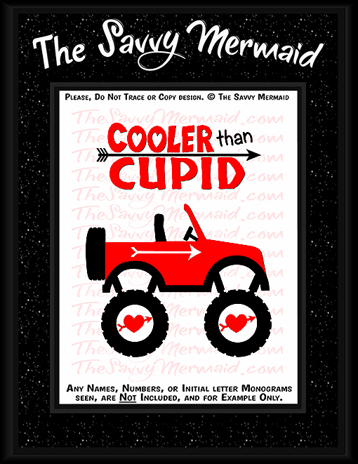 Valentine's Day Cooler than Cupid Jeep - The Savvy Mermaid