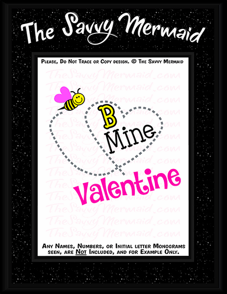 Valentine's Day - Bee Mine Valentine