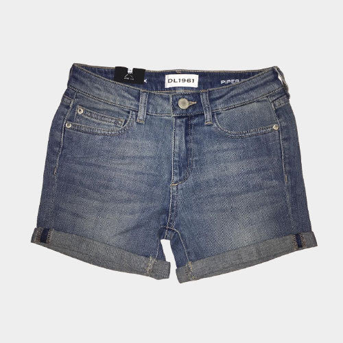 DL 1961 Cuffed Denim Shorts