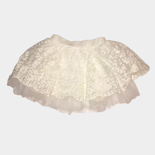 Lace Skirt(White)