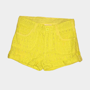Yellow Spinner Short