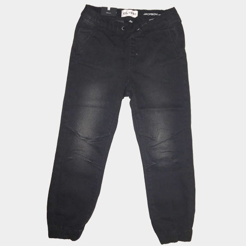 DL 1961 Black smart denim jogger