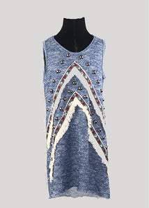 Tribal Fringe Dress