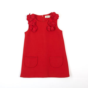 Red Wool Dress