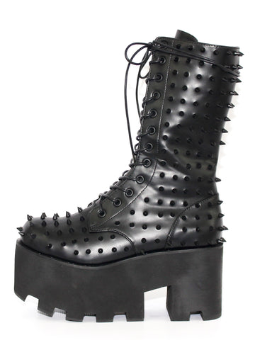Black Metal Boot