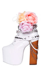 Diamonds & Guns Platform Boot