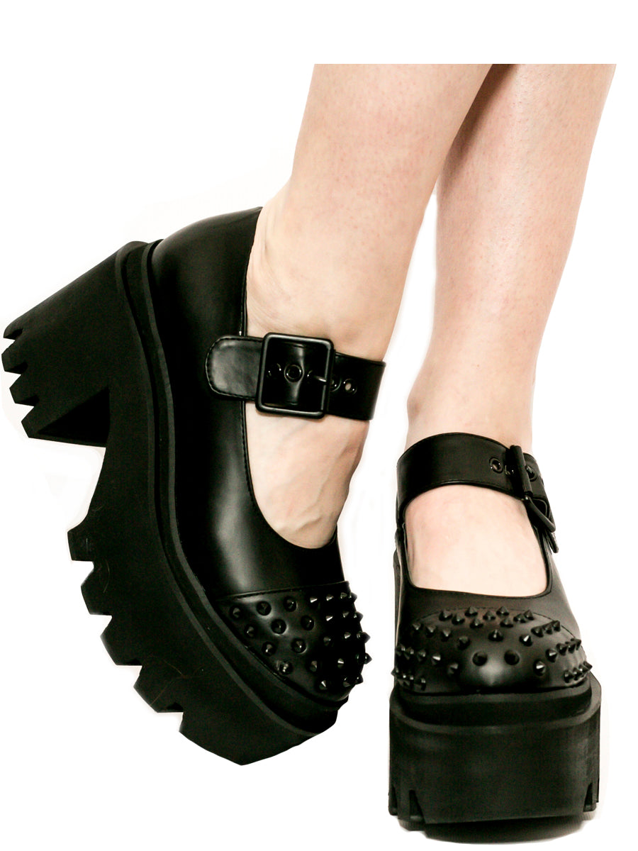 Metal Mary Black Platform