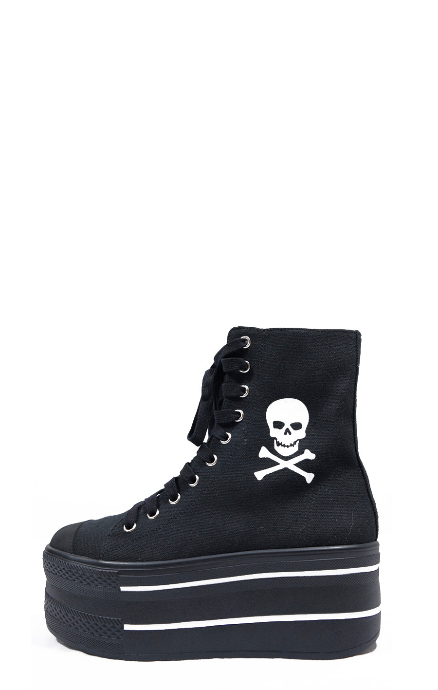 Skelly Hi-Top Platform Sneaker