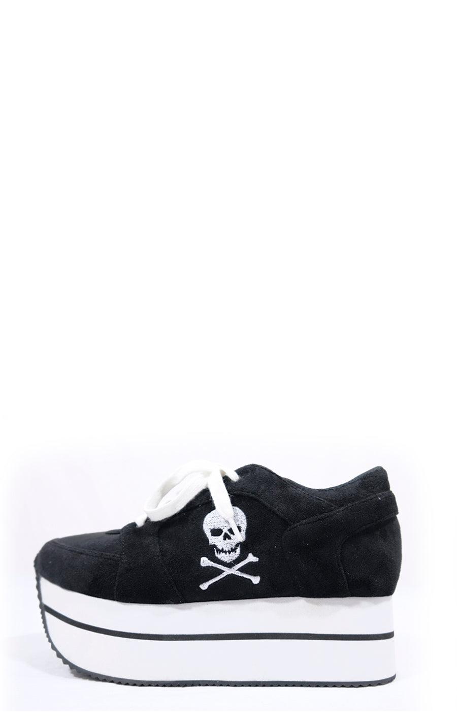 Super Skelly Suede Platform Sneaker